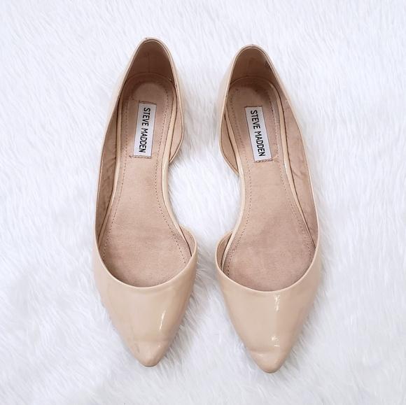 bdf5e2bb186 Elusion Ballet Flats By Steve Madden